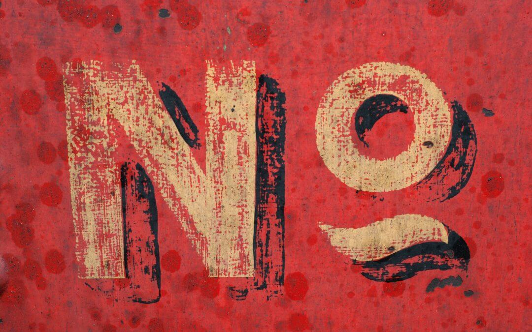 Knowing When To Say No To Your Client